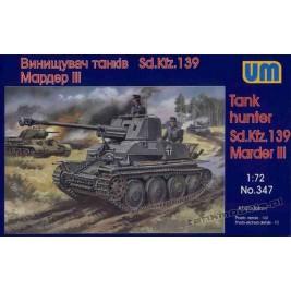 Marder III Sd. kfz 139 - UniModels 347