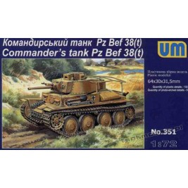 Panzer 38(t) Command Tank - UniModels 351