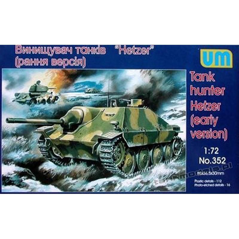 Sd.Kfz.138/2 Hetzer (wczesna wersja)