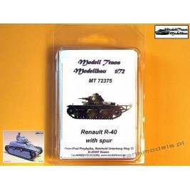 Renault R-40 w/Spur - Modell Trans 72375
