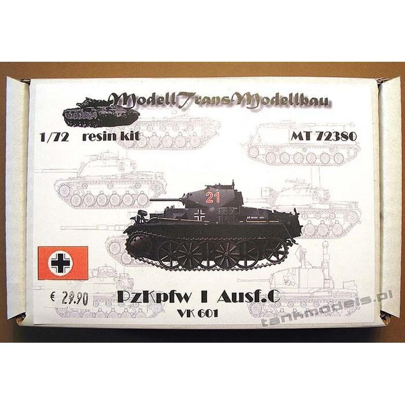 Pz. Kpfw. I Ausf.C (VK.601) - Modell Trans MT72380