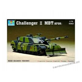 Challenger II with dozer blade (KFOR) - Trumpeter 07216