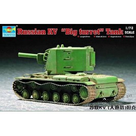 KW-2 Big turret - Trumpeter 07236