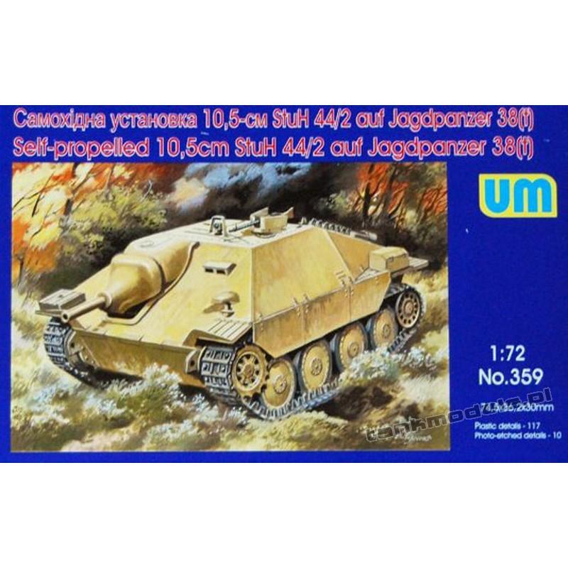 10,5cm StuH-44/2 auf Jagdpanzer 38 (t)