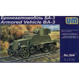 BA-3 (railway verion) - UniModels 364