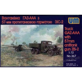 GAZ-AAA with 57mm Gun ZIS-2 - UniModels 367
