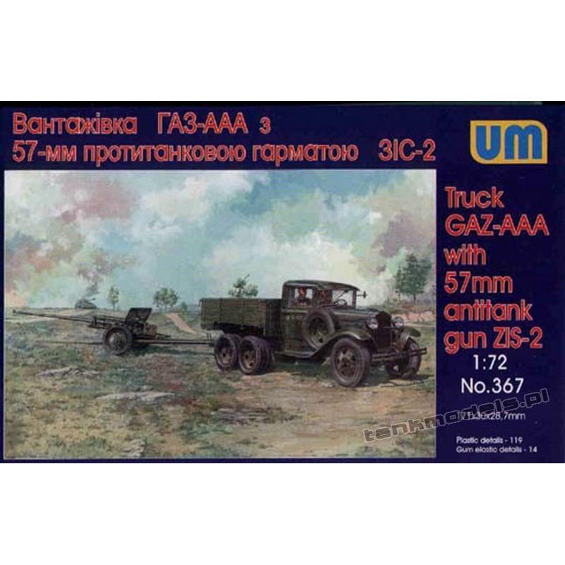 GAZ AAA with 57mm z armatą ZIS-2