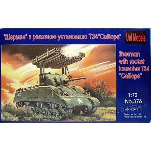 M4 Sherman T34 Calliope - UniModels 376
