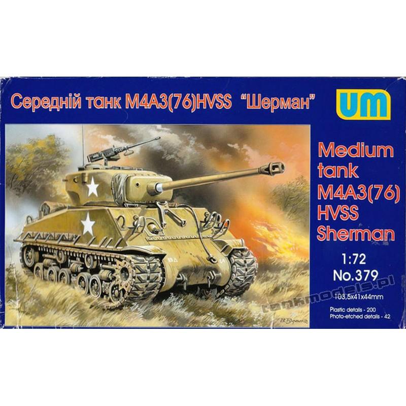 M4A3 ( 76)W Sherman (HVSS)
