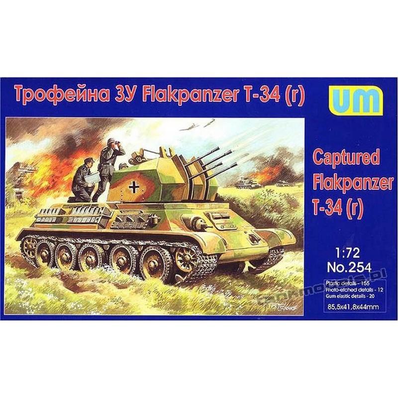 T-34(r) Flakpanzer - UniModels 254