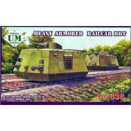 BDT w/ T-26 turret (Heavy Armored Railcar) - UniModels 638