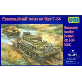 T-34 Recovery tractor - UniModels 389