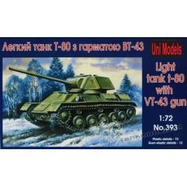 T-80 VT-43 - UniModels 393