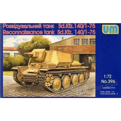 Marder III Sd 140/1-75 - UniModels 396