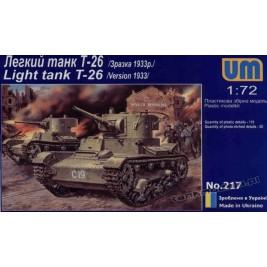 T-26 mod. 1933 - UniModels 217