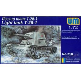 T-26-1 wz.1933 - UMMT 218