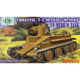 Christie T-3 mod. 1931 - UniModels 403