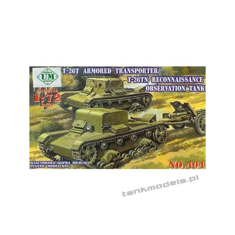 T-26T / T-26TN (Transporter/Reconnaissance)