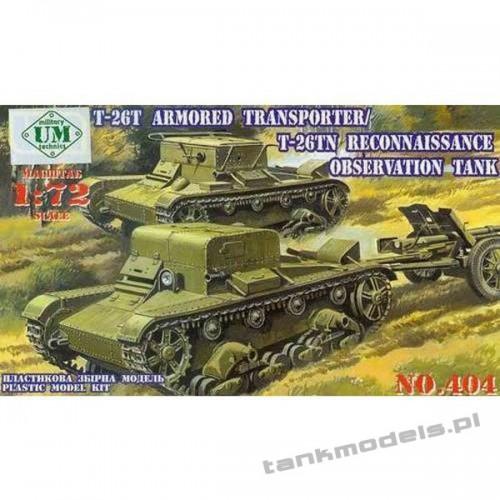 T-26 T Reconnaissance - UniModels 404