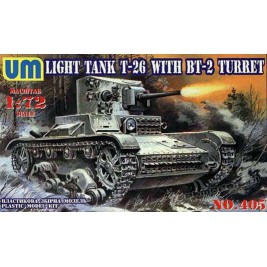 T-26 with BT-2 turret - UniModels 405