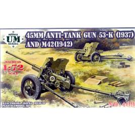 45mm AT mod. 1937/mod. 1942 - UniModels 409