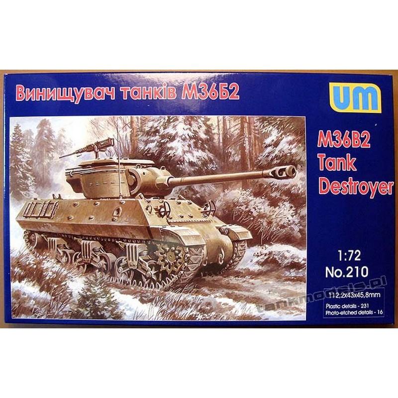 M36B2 Tank Destroyer - UniModels 210