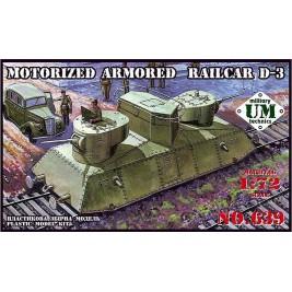 Motorized armored railcar D-3 - UMMT 639