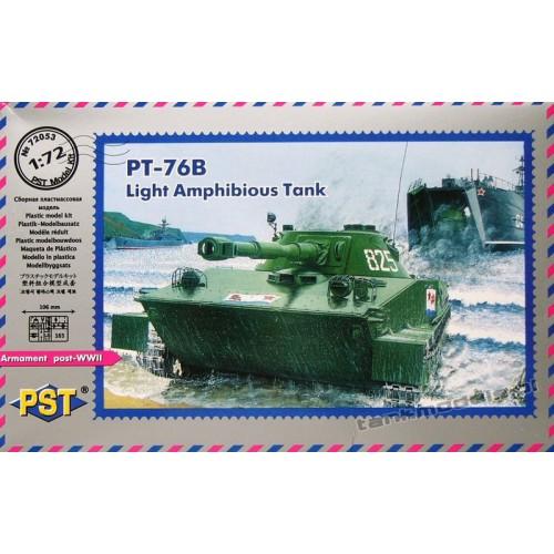 PT-76 B lekki czołg pływający (Wojsko Polskie) - PST 72053