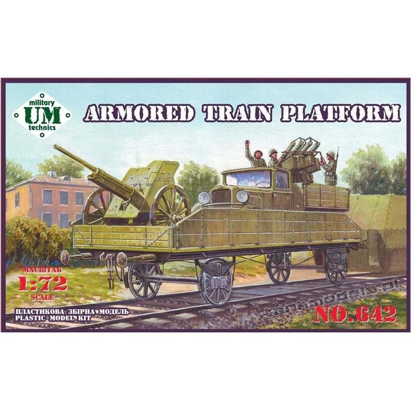 Armored train platform - UMMT 642