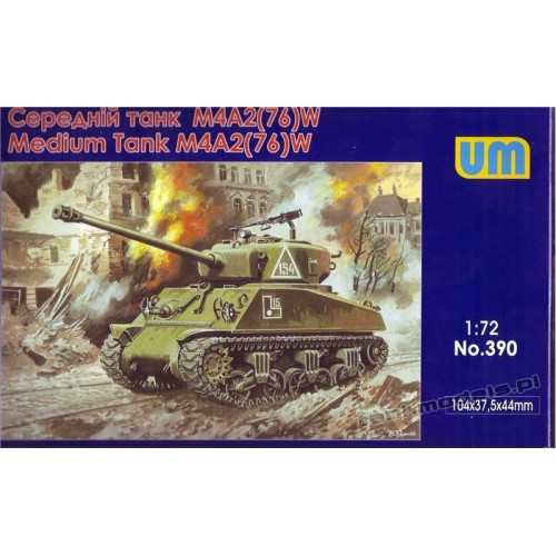 M4A2(76)W US Medium tank - UniModels 390