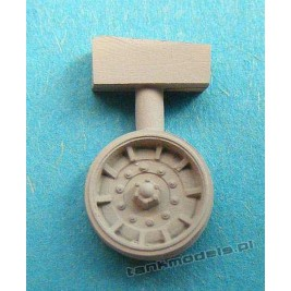 M60 Patton early (aluminum road wheels) - Modell Trans MT 72121
