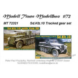 Sd.Kfz. 10 tracked gear set (ACE) - Modell Trans 72321