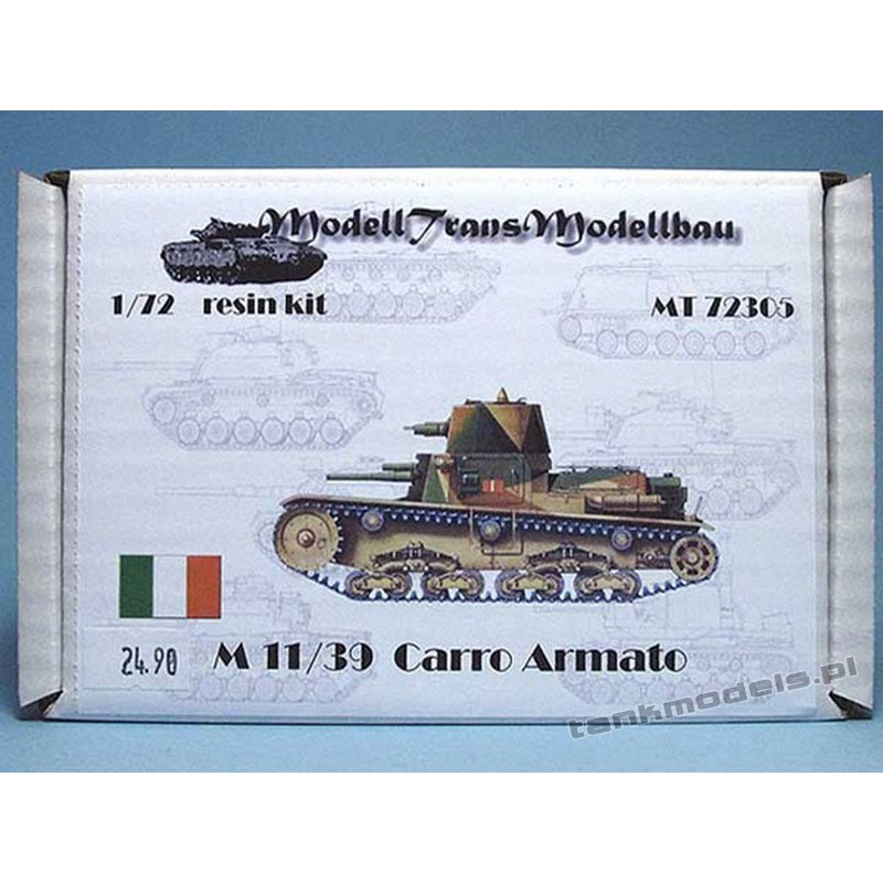 M 11/39 Carro Armato