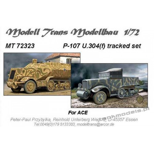 P-107 U.304(f) tracked gear set (for ACE) - Modell Trans 72323