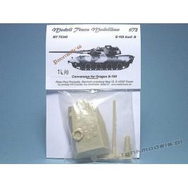 E-100 Ausf. B Panzerwaffe '46 (conv.) - Modell Trans 72340