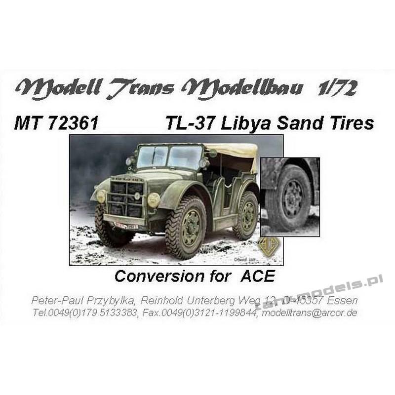 Koła pustynne do TL-37