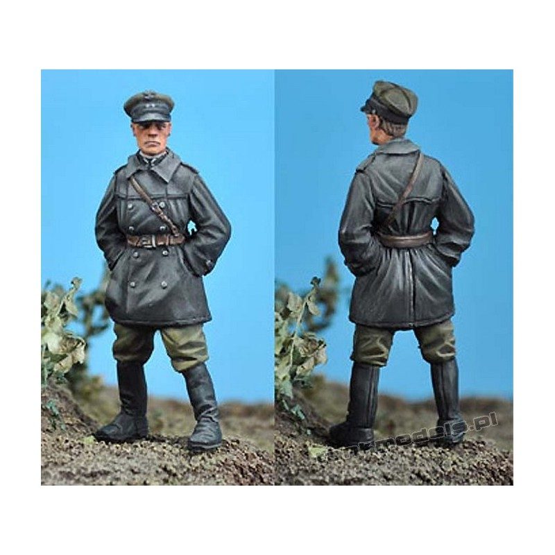 Polish FT-17 Tank Commander - Scibor Miniatures 001