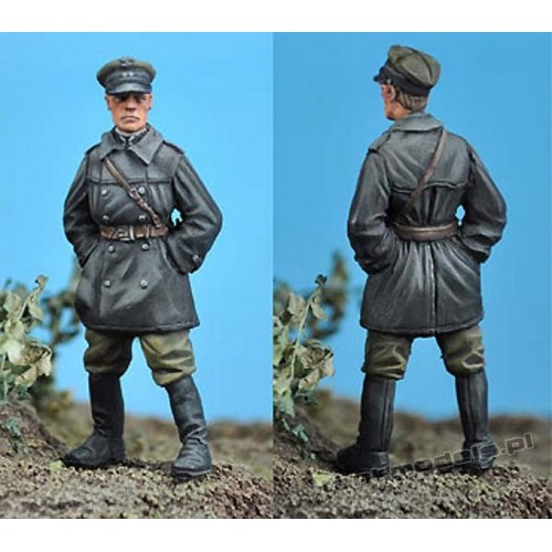Polish FT-17 Tank Commander (1919-1920) - Scibor Miniatures 35001
