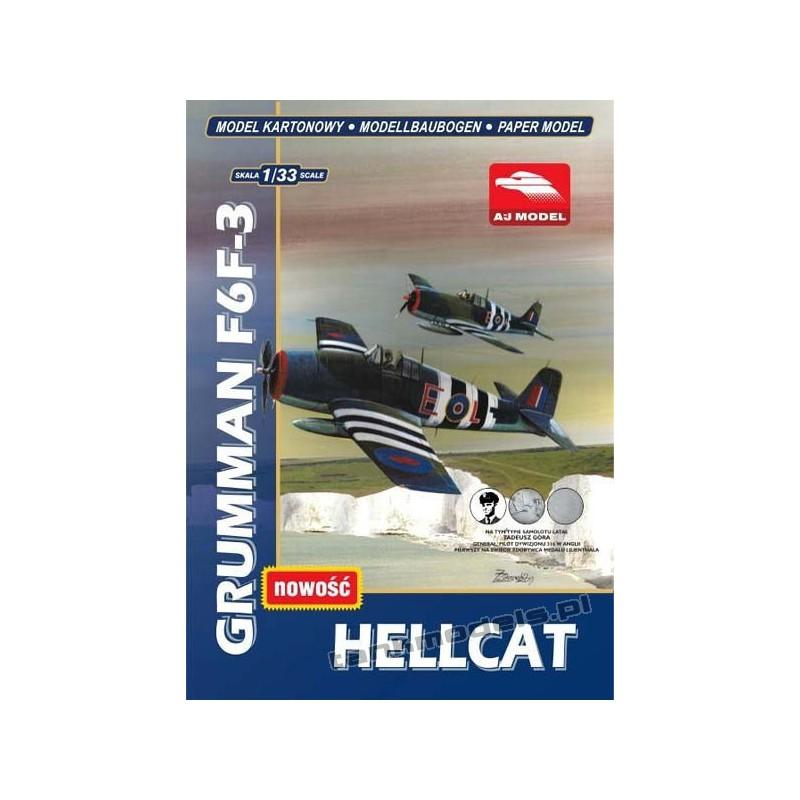 Grumman F6F-3 Hellcat - AJ Model 3201