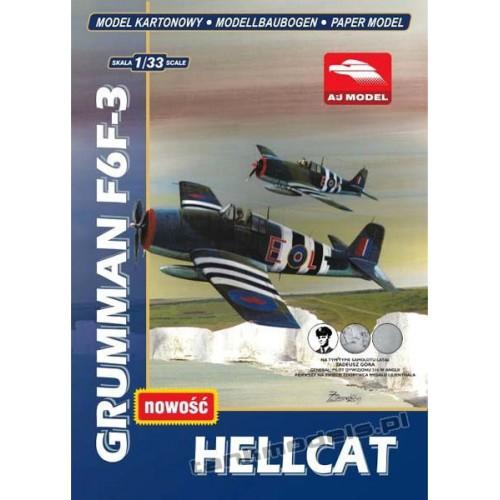 Grumman F6F-3 Hellcat - AJ Model 3301