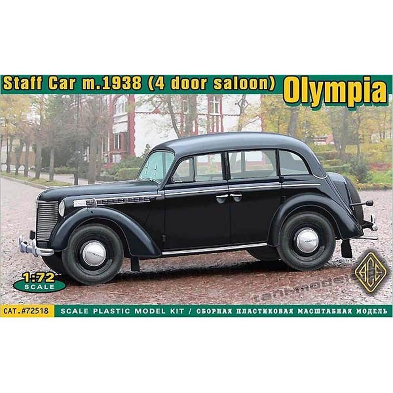Olympia (4 door saloon) staff car, model 1938 - ACE 72518