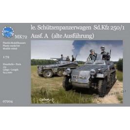 """Sd.Kfz. 250/1 Ausf. A """"alte"""" (2 wersje) - MK72 7204"""