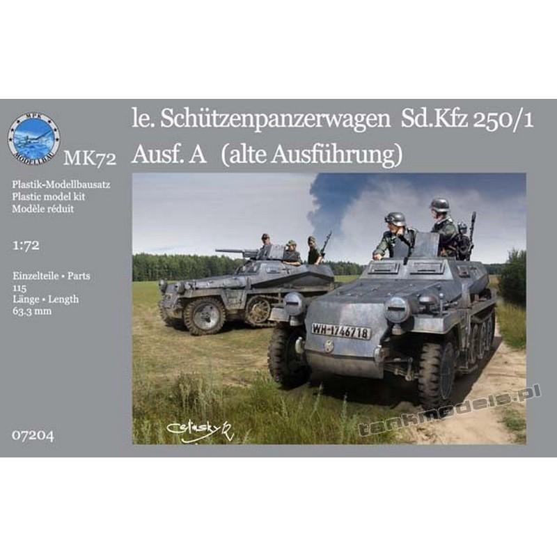 """Sd.Kfz. 250/1 Ausf. A """"alte"""" - MK 7204"""