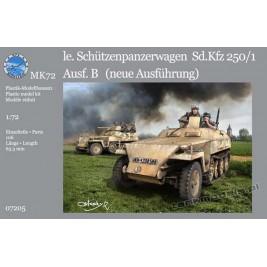 """Sd.Kfz. 250/1 Ausf. B """"neue"""" (2 wersje) - MK72 7205"""
