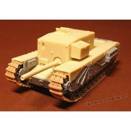 Churchill Gun Carrier 3-inch howitzer (conv) - Modell Trans 72408