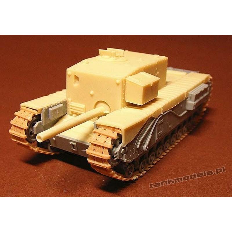 Churchill Gun Carrier 3-inch howitzer (conv) - Modell Trans MT 72408