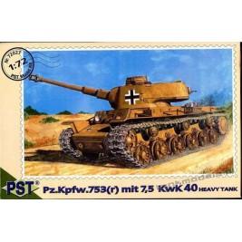 Pz.Kpfw. 753(r) 7.5 KwK L/40 - PST 72027