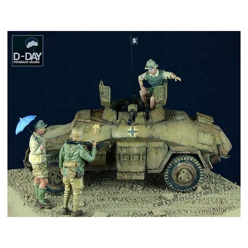 Afrika Korps Set 1 - D-Day Miniature 72002