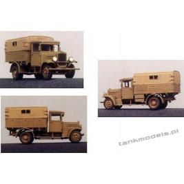 Polish Fiat 621L / I Army truck - Mars 7201