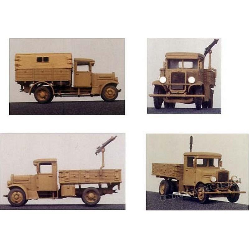 Polski Fiat 621L/II Army truck - Mars 7202